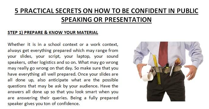 Public Speaking Report V2