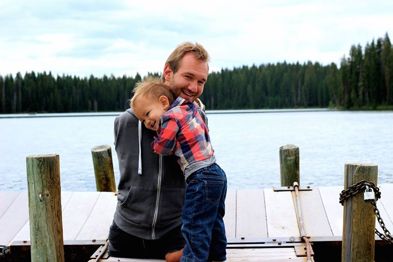 Nick with Son